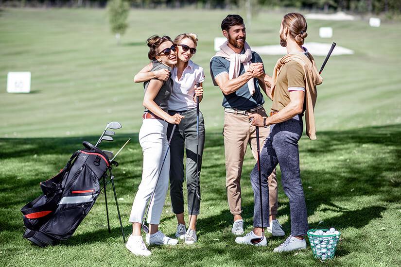 Golf spielen im Urlaub