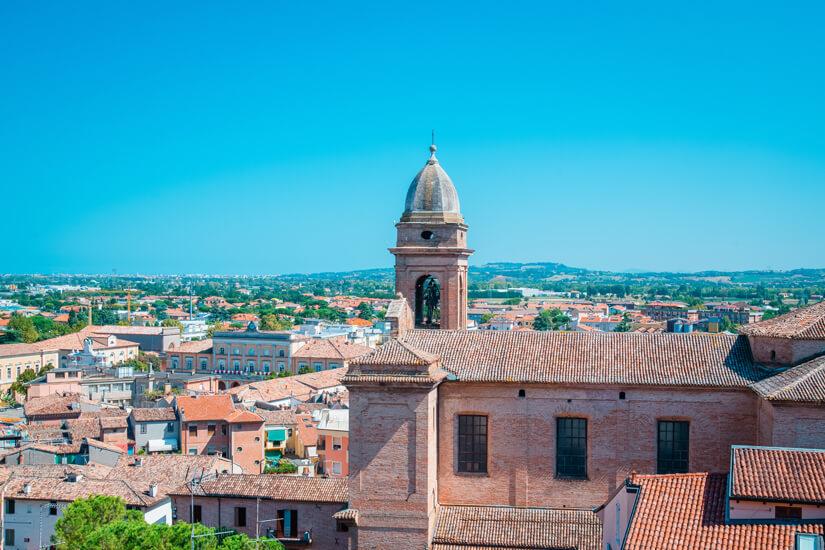 Blick auf Rimini