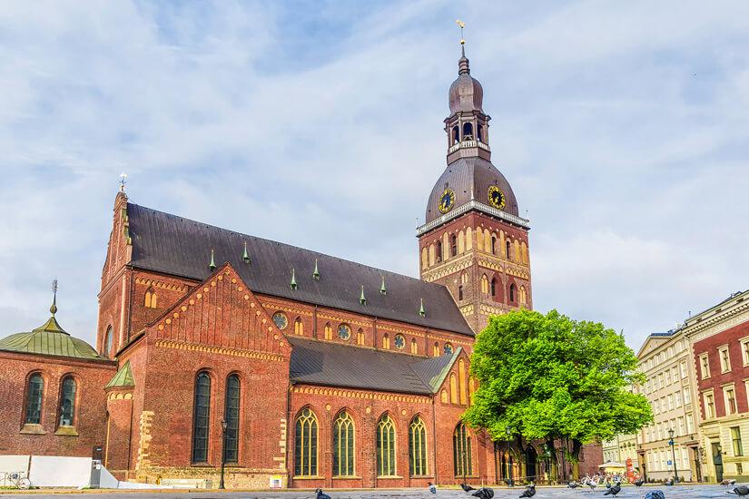 Der berühmte Dom zu Riga
