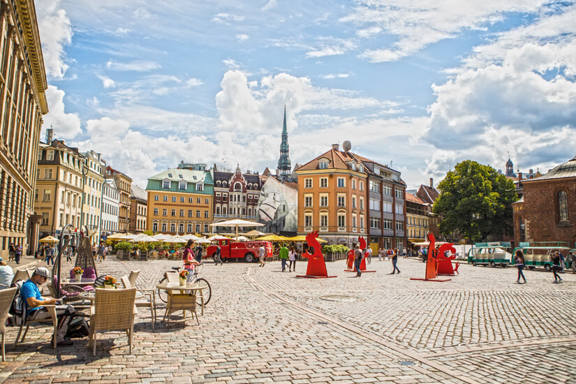 Historische Gebäude in der Altstadt