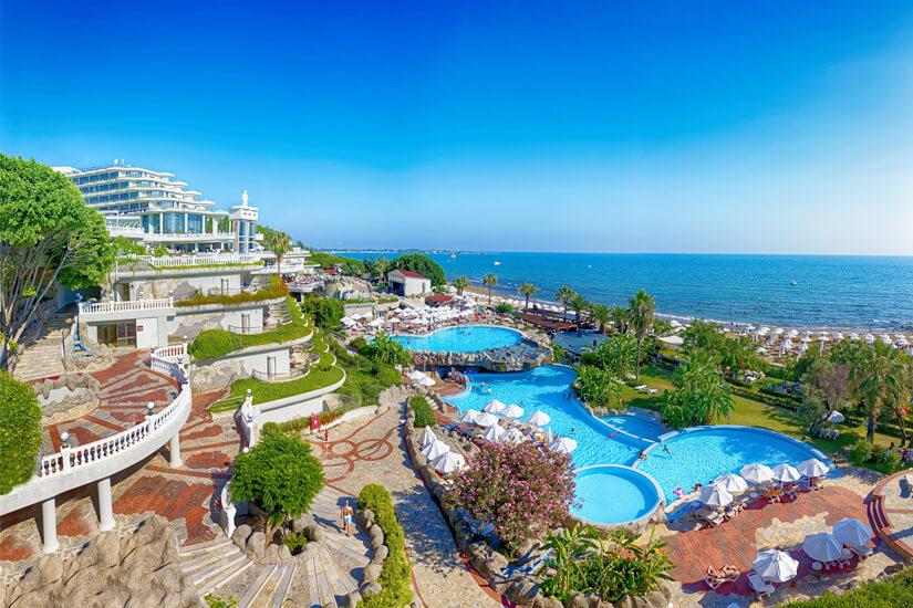 Ein Hotel in Side direkt am Strand