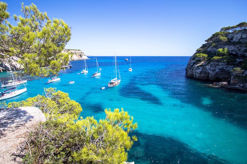 Bucht von Macarella auf Menorca
