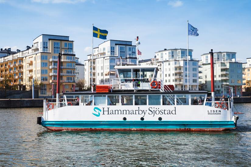 Per Bootsfahrt Stockholm erkunden