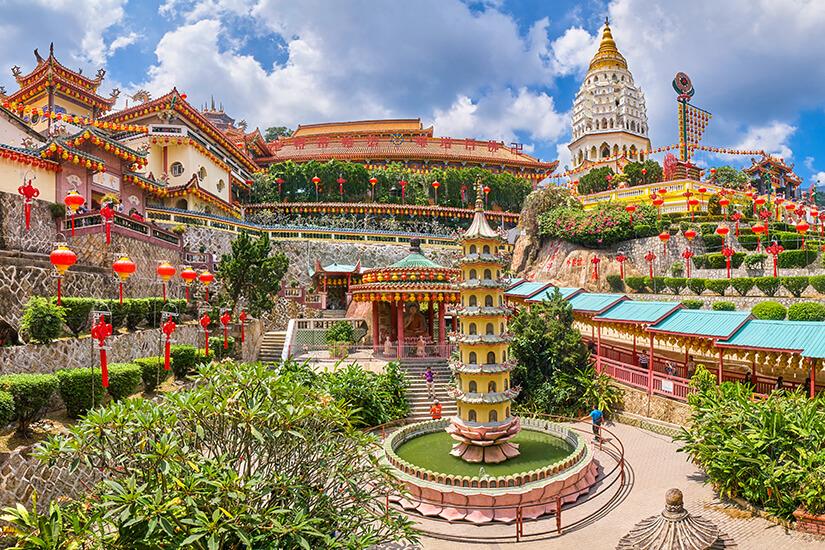 Kek Lok Si Tempel in Penang