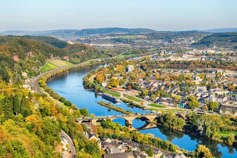 Trier liegt am Jakobsweg
