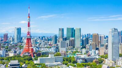 Tokyo Tower in der japanischen Hauptstadt