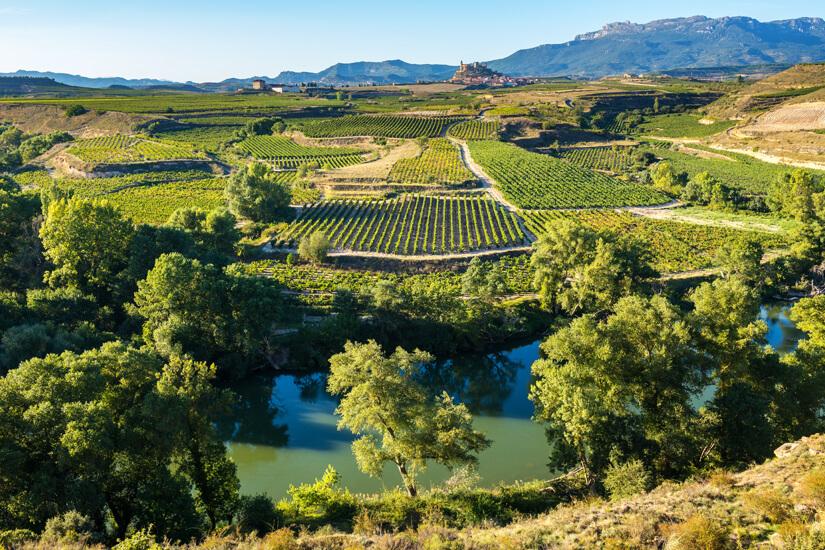 La Rioja ist eines der schönsten Weinanbaugebiete