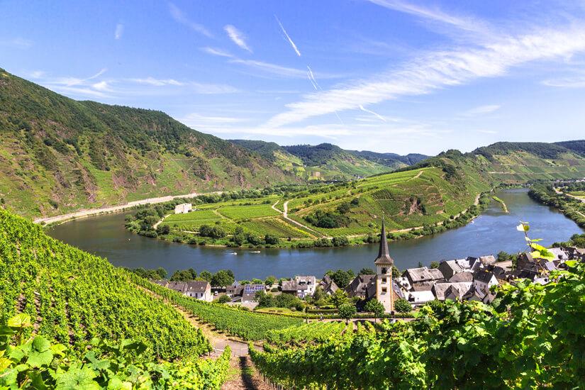 Die Mosel gehört zu den schönsten Weinanbaugebieten Deutschlands