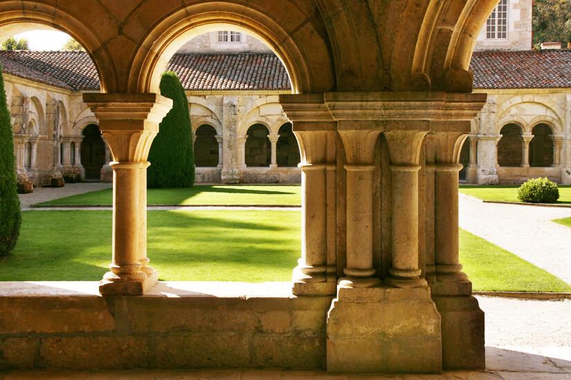 Im Kloster herrscht eine besonders ruhige Stimmung