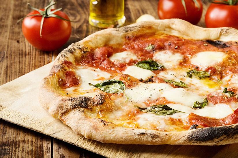 Typisch italienische Pizza