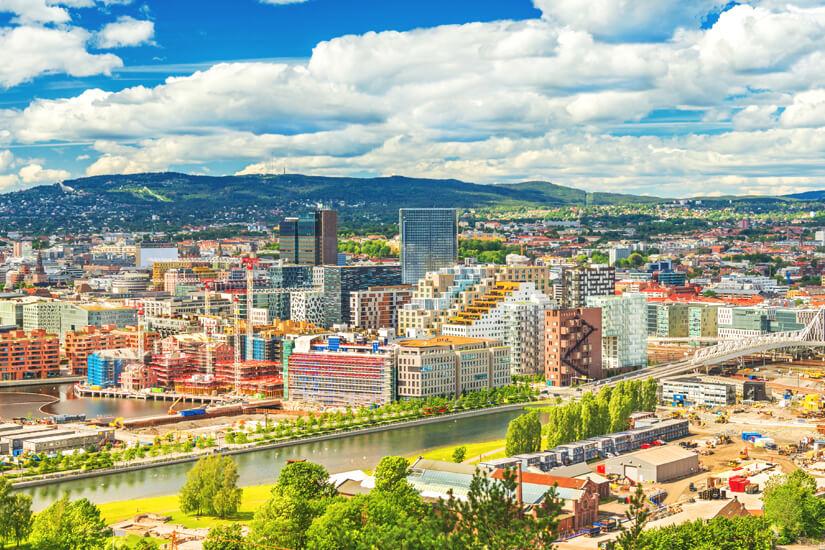 Stadtansicht Oslo