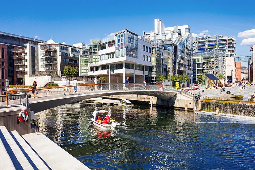 Hafenviertel Aker Brygge, Oslo