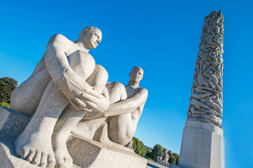 Skulpturen im Vigeland Park