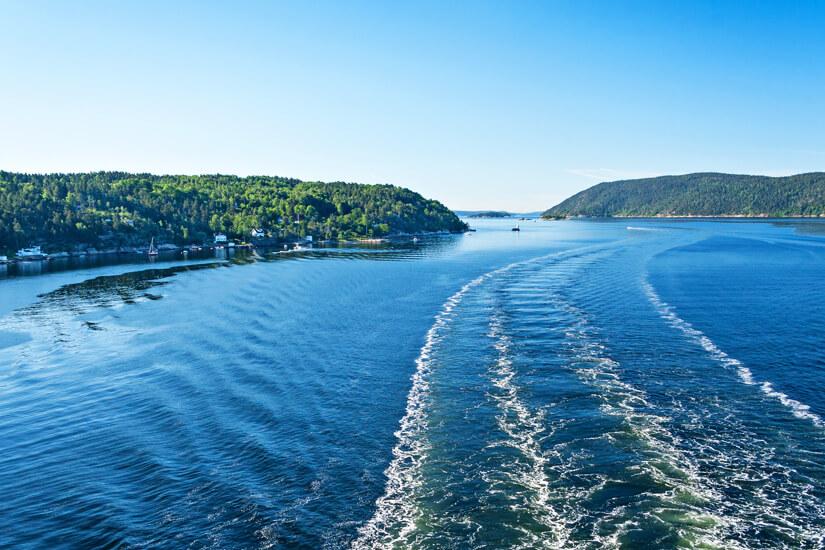 Die Fjorde vor Oslo erkunden