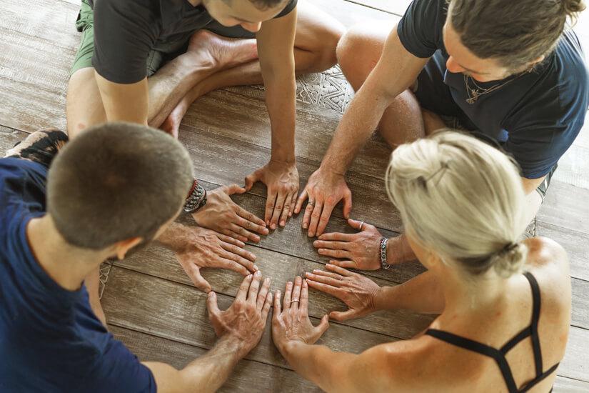 Retreat als Workshop in der Gruppe