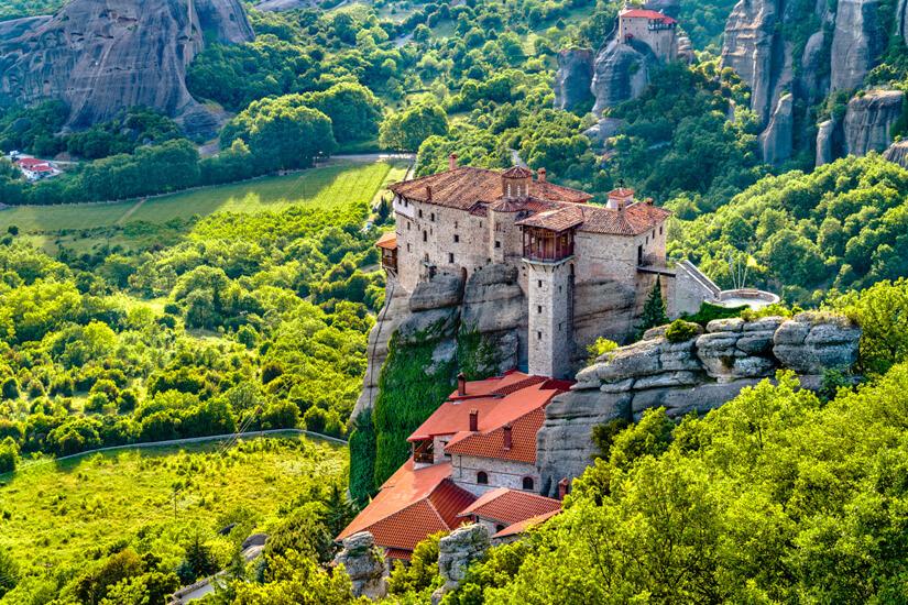 Das Kloster von Rossanou