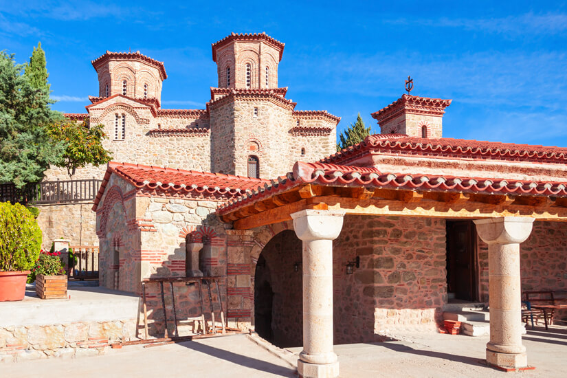 Kloster besichtigen in Meteora