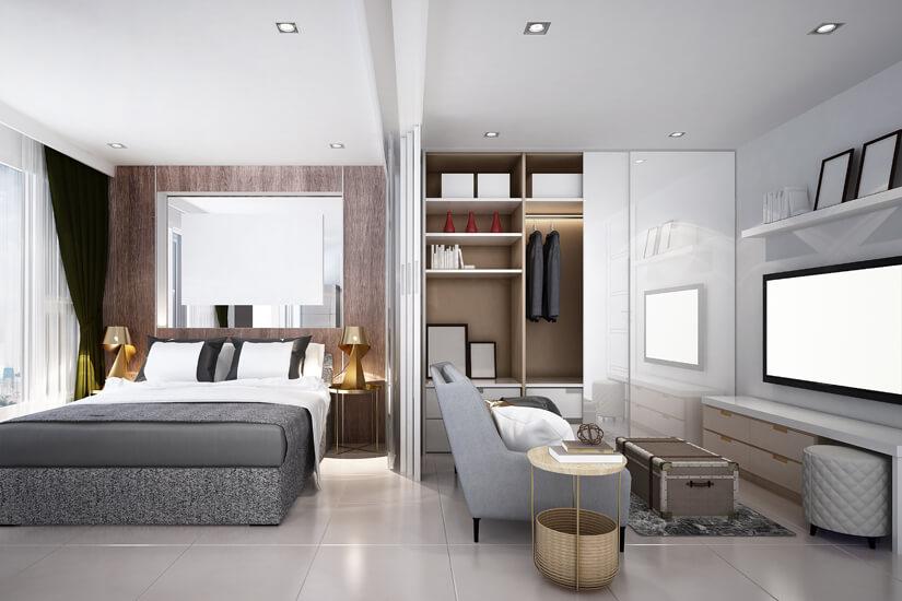 Aparthotel mit modernem Apartment