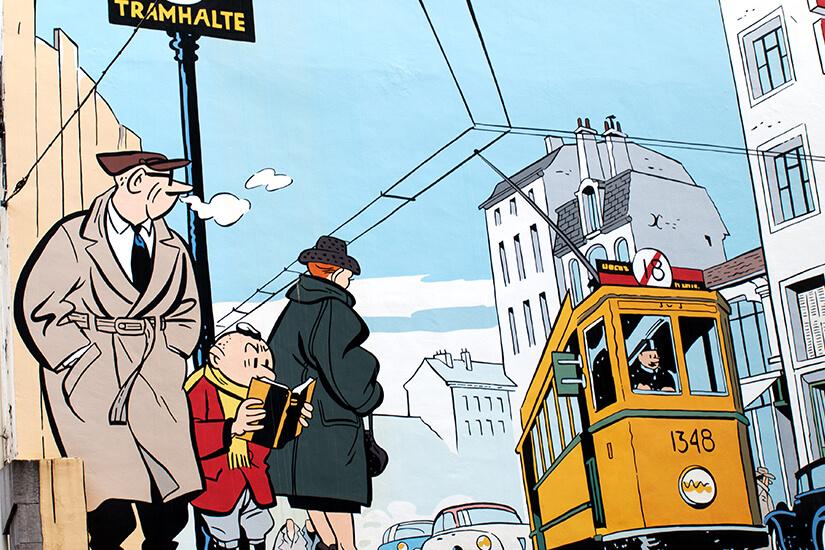 Belgische Comics sind weltbekannt
