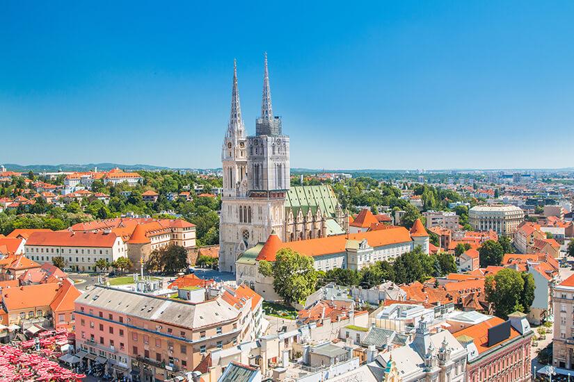 Historisches Zentrum von Zagreb, Kroatien