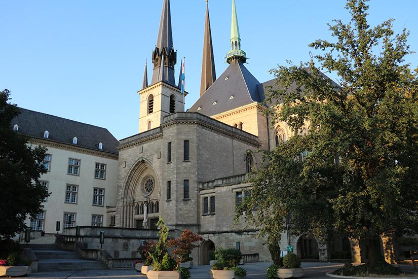 Kathedrale unserer lieben Frau in Luxemburg-Stadt