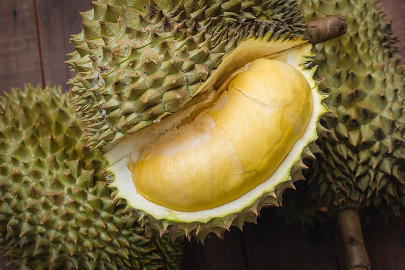 Die Durian-Frucht
