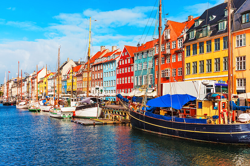 Dänemark Kopenhagen Nyhaven