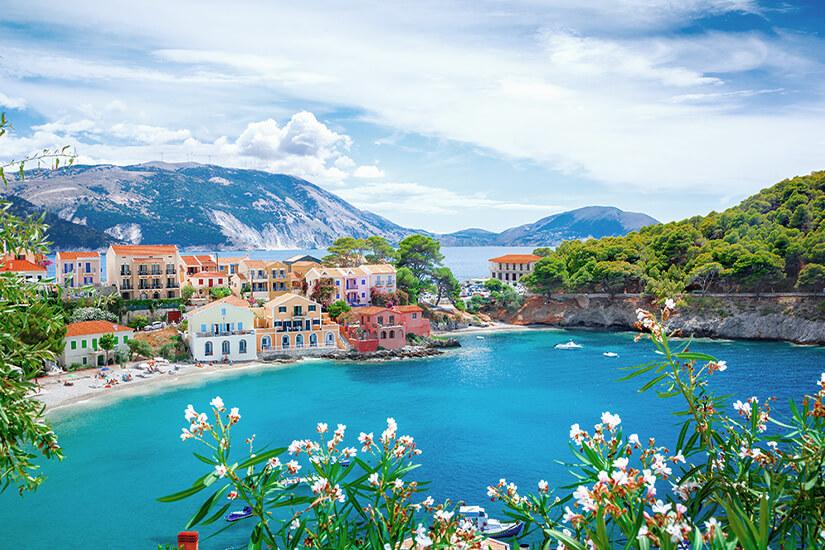 Griechenlands Insel Kefalonia