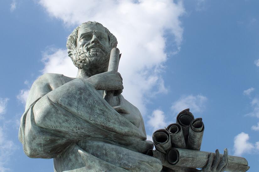 Aristoteles soll in Stagira geboren sein