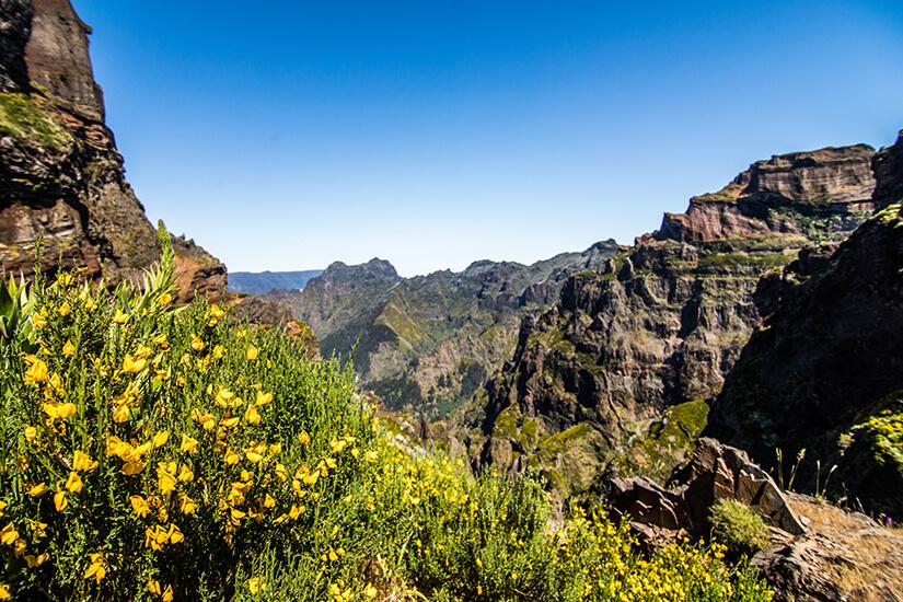 Pico Ruivo und Pico de Arieiro auf Madeira