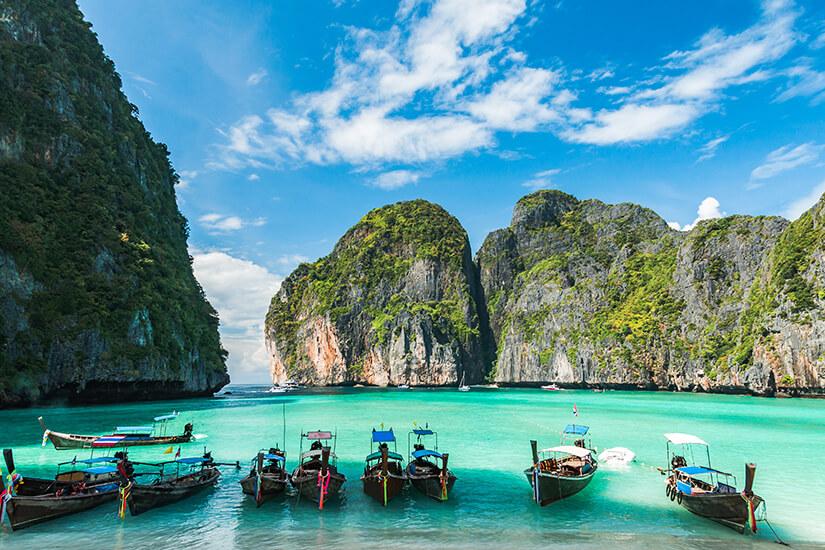 Lamai Beach auf Koh Samui, Thailand