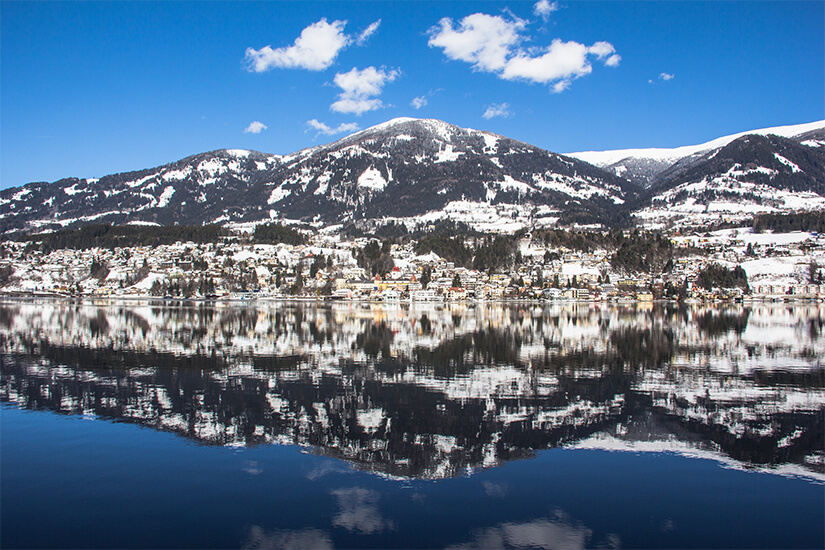 Millstatt am See im Winter