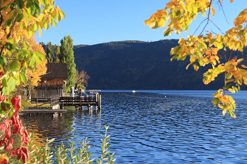 Herbststimmung in Dellach am Millstaetter See