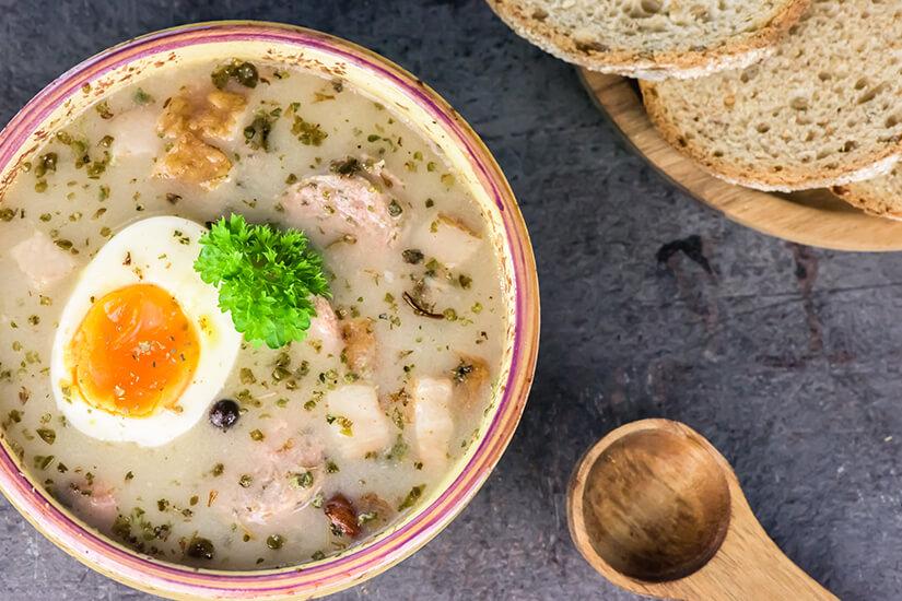 Polnische Suppe Zurek