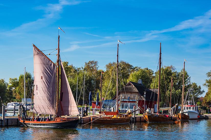 Zeesenboot in Dierhagen