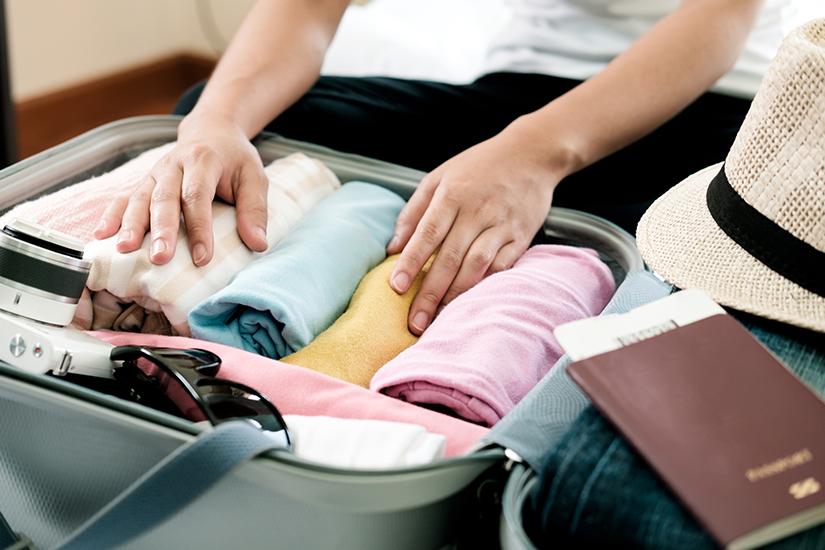 Koffer minimalistisch packen
