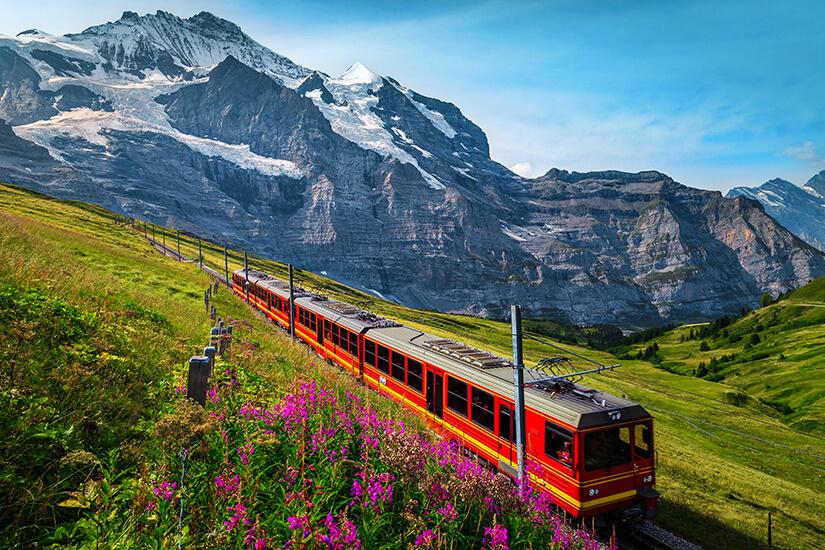Klimaschonend per Zug reisen