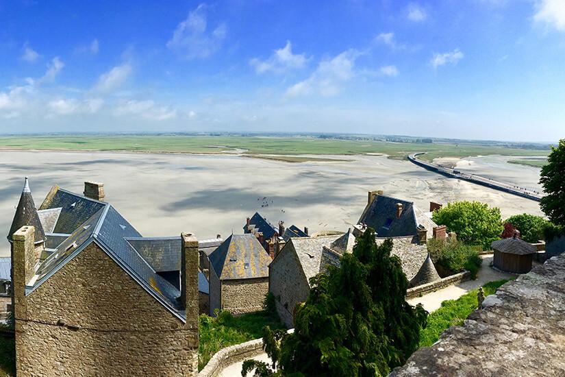 Blick von den Burgmauern