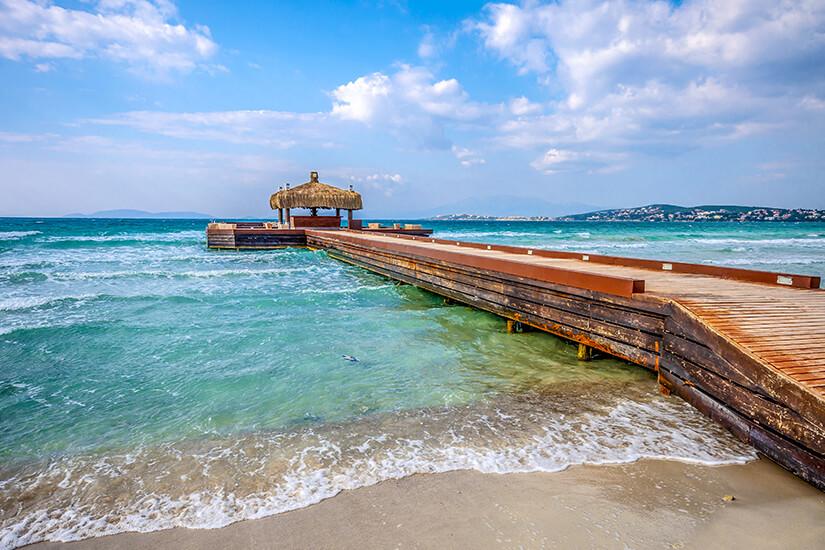 Ilica Beach auf der Halbinsel Cesme