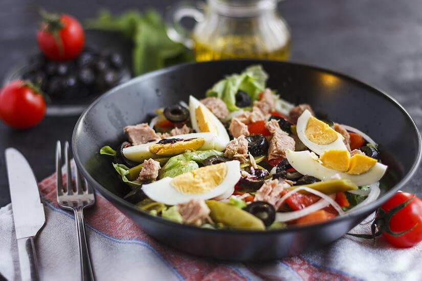 Schmeckt: Salade nicoise