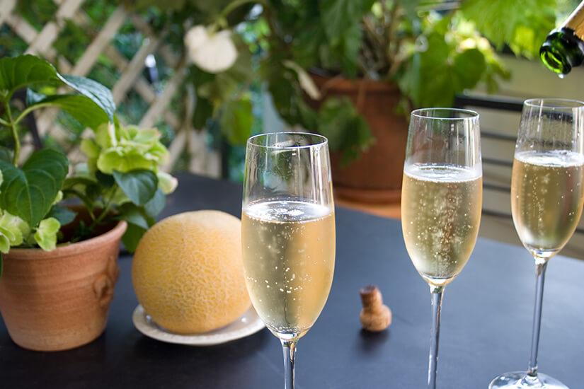 Champagner ist der Schaumwein schlechthin