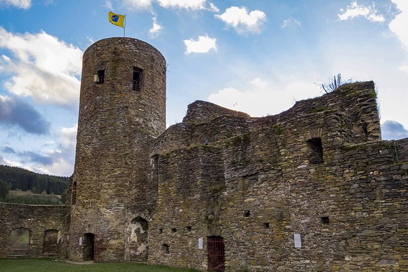 Die Burg Reuland
