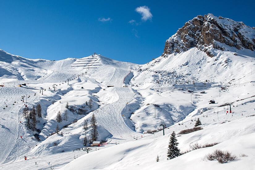 Skispaß in Groeden