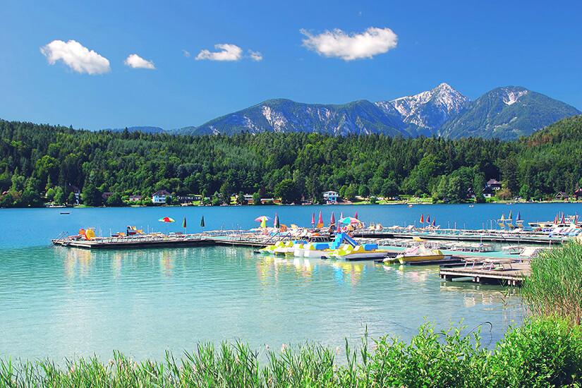 Klopeiner See, Oesterreich