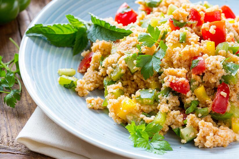 Couscous mit Gemüse