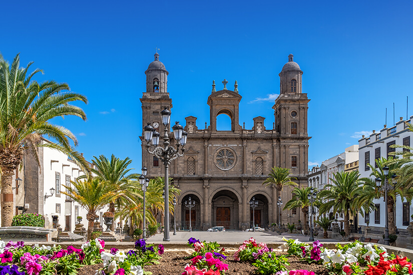 Kathedrale Santa Ana im Viertel Vegueta