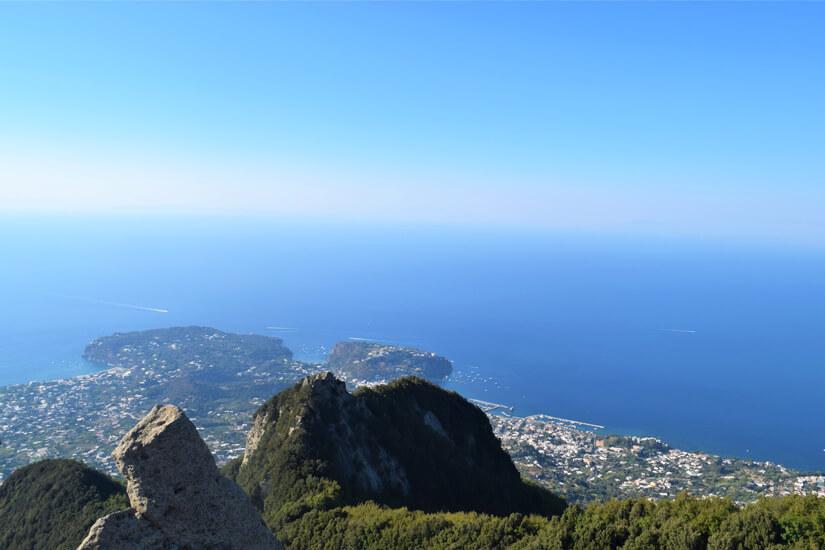 Ausblick vom Monte Epomeo