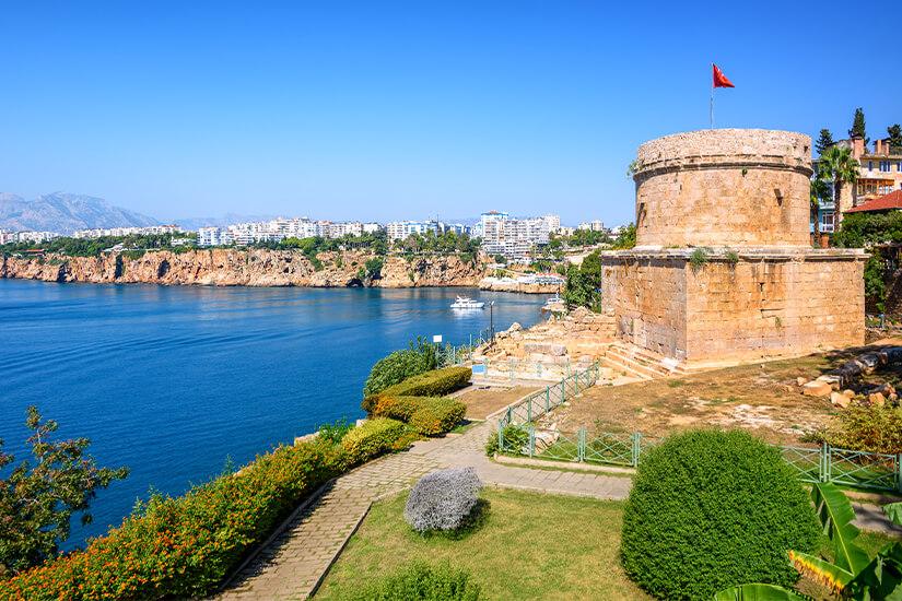 Hidirlik-Turm in Antalya