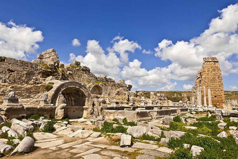Sehenswerte Ruinen von Perge
