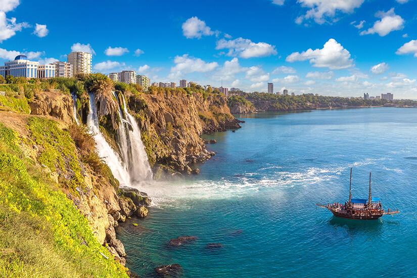 Dueden Wasserfall bei Antalya
